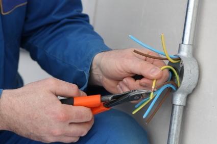 elektriciteit aanleggen